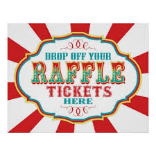 raffle sign raffle ticket booth sign zazzle com