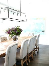 dining room light height elegant dining room chandelier