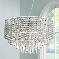 Afaura 4 Light Crystal Chandelier Elva Chrome Beaded Crystal Pendant Light Eu6f089 Euro