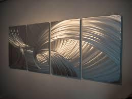 Metal Kitchen Wall Art Decor Metal Wall Art Decor Aluminum Abstract Contemporary Modern
