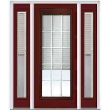 mmi door 60 in x 80 in internal blinds and grilles right hand