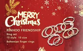 RINHOO FRIENDSHIP 10PCS Bohemian Retro ... - Amazon.com