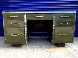 an metal desk the green metal desk provides amp