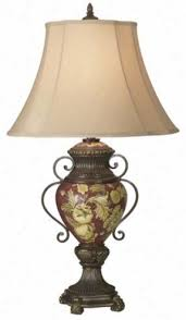 tuscany lighting. Possini R Collection Tuscan Red Floral Urn Synopsis Lamp 00754 Tuscany Lighting A