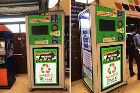 Plastic Bottle Recycling Vending Machine Enchanting Recycle Bottles At Train Stations In Mumbai LBB Mumbai