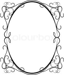 682x800 cze images oval filigree frame clip art