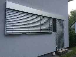 Raffstoreanlagen Mit Aluminium Blende Vom Sonnenschutz Fachbetrieb
