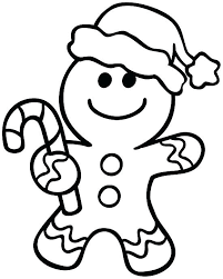 Gingerbread Woman Coloring Pages At Getdrawingscom Free For