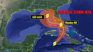 Hurricane Warning for southern Florida ...