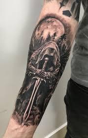 Warrior Angel Tattoo By Stefan Limited Availabili Angel