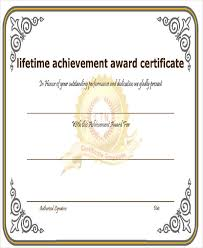 Achievement Awards Certificates Templates 31 Award Certificates In Word Format
