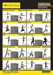 Printable Trx Exercise Chart Tws Fitzone Tws_fitzone On Pinterest