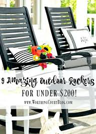 wood porch rockers 9 amazing outdoor rocking chairs for under court wood outdoor rockers wood porch rockers