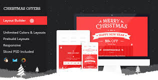 25 Best Christmas Email Newsletter Templates 2016 Designmaz