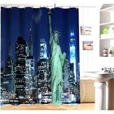 new york skyline shower curtain target soozone