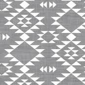 Navajo designs Sun Navajo Texture Gray White Plasticultureorg Navajo Fabric Wallpaper Gift Wrap Spoonflower