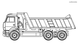 A wide variety of truck trailers stickers options are available to you, such as use, material, and style. Trucks Coloring Pages Free Printable Truck Coloring Sheets