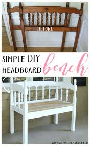 Headboard Bench Plans 280 Best Furniture I Want To Make Images On Pinterest