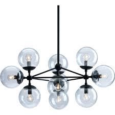 chandeliers zuo modern time chandelier zuo modern 56065 belfast ceiling lamp in black w 10