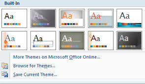 Theme For Powerpoint 2007 Using The Linfield Theme In Powerpoint Presentations