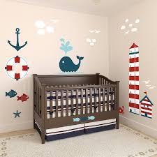 nursery nautical theme growth chart x large wall decals fathead wall decal