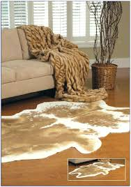 animal skin rugs faux delightful hide with regard to head animal fur rugs