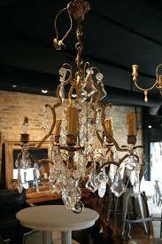 vintage crystal chandelier antique french 5 light brass and crystal chandelier sold vintage crystal chandelier lighting