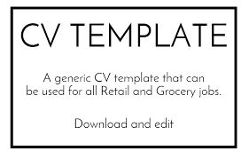 Simple Cv Format Download - Tier.brianhenry.co