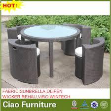 space saving patio furniture. Space Saving Outdoor Furniture Turkey Rattan Dining Table Set Patio U