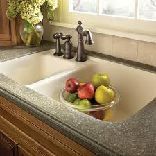 corian top and sink