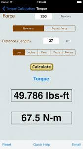 Torque Calculator Units Converter App Profile Reviews