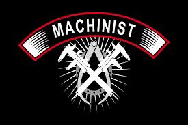 machinist logo. machinist because engineers need heros too logo 6