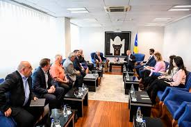 haradinaj offers support for the team of doctors from gift of life international