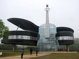 great architecture buildings. 32 Piano Shaped Building, Huainan, China - Online Architecture Gallery Top 50 Most Amazing Great Buildings B