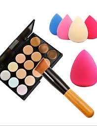 15 colors balm concealer contour makeup brushes face high quality makeup cosmetic