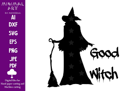Download 10 halloween svg files for free. Good Witch Shadow Halloween Sublimation Graphic By Momixzaa Creative Fabrica