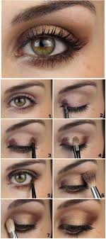 description how to step by step eye makeup tutorials and guides for beginners