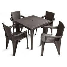 plastic patio dining sets patio