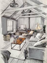Fine Interior Design Drawings Find This Pin And More On Not Only For Perfect