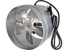 10 in duct booster fan