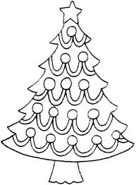 Clipart  Starry Christmas Tree SilhouetteChristmas Tree Outline Clip Art