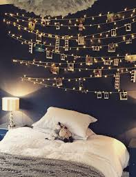Bedroom Fairy Light Wall