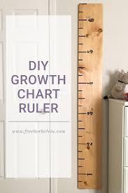 Growth Chart Ruler Diy 259 West