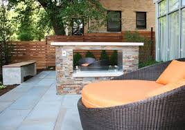 prefabricated outdoor fireplace