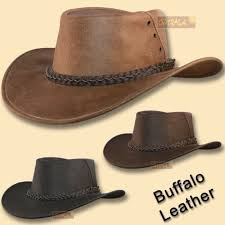 oztrala hat jacaru buffalo leather outback drizabone cowboy mens indiana jones 49 36