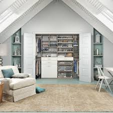 San Francisco Bedroom Furniture California Closets Traditional Bedroom With A Attic Ceiling From