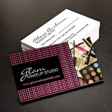 makeup business cards designs fully customizable makeup artist business cards created by