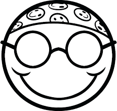 free printable smiley face coloring pages emoji best for kids