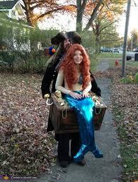 mermaid in pirate s treasure chest costume
