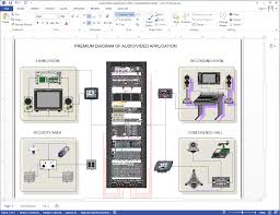 network diagrams   rack elevations   netzoom visio stencils examplesaudio video installation  audio video solutions  home automation diagram